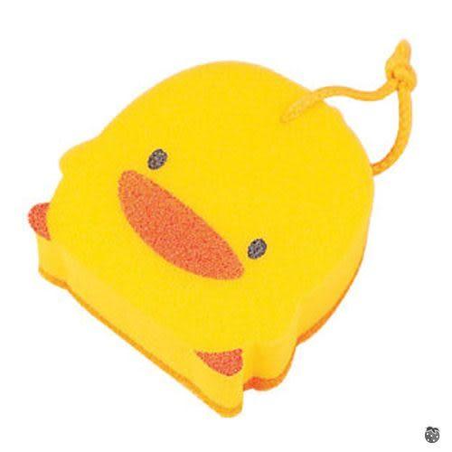 【嬰之房】PiyoPiyo黃色小鴨 黃色小鴨雙層沐浴海綿