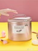 化妝收納包 化妝箱手提大容量ins風超火化妝包網紅少女心便攜品新收納盒 伊芙莎