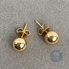 BRAND楓月 TIFFANY&CO. 蒂芬妮 38172824 PG圓球耳環 3.1G 耳飾 飾品 配件