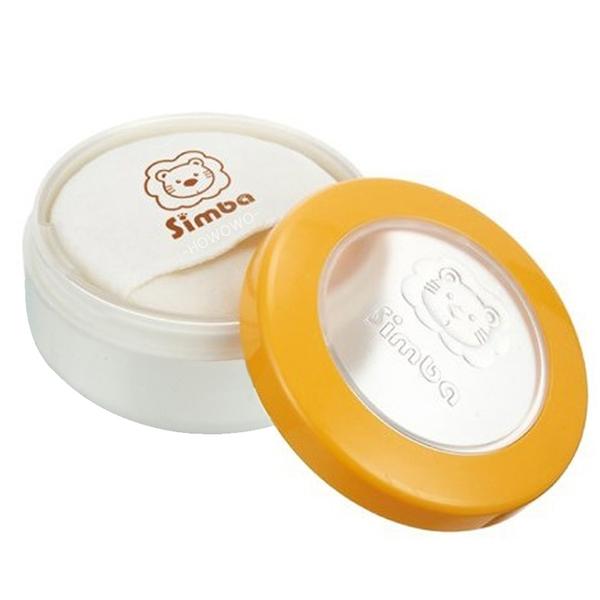 小獅王辛巴 Simba 雙層造型粉撲盒 粉餅 附極柔感粉撲 2212