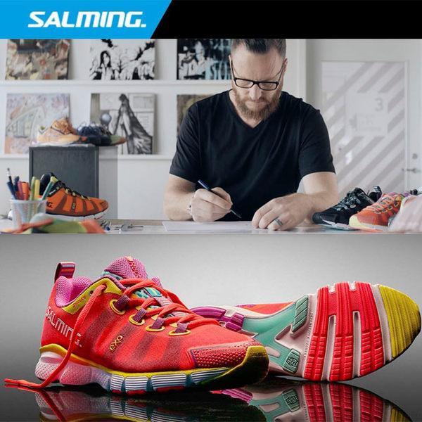 SALMING 瑞典品牌 女跑鞋 (粉紅) ENROUTE 專業輕量緩衝款慢跑鞋【 胖媛的店 】