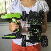 遙控車 四驅越野車攀爬大腳車高速賽車充電動兒童玩具男孩遙控汽車 卡菲婭