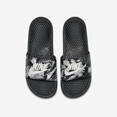 Nike W Benassi JDI Print [618919-020] 女鞋 拖鞋 涼鞋 運動 休閒 雨天 海邊 黑