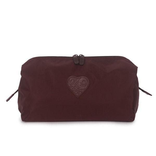 GOBY 果比 Love系列-旅遊化妝包-L960咖啡棕[禾雅時尚]