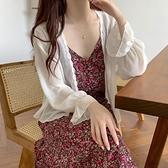 夏季2020新款防曬衣女小披肩配裙子薄款長袖百搭雪紡開衫上衣外套 【ifashion·全店免運】