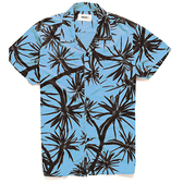 Deus Ex Machina Dean Centennial Shirt 短袖襯衫-(藍)