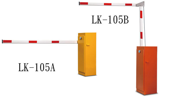 Garrison防盜器材 批發中心 停車場車道管制系統 電動柵欄機LK-105BL1 室外型(折臂式)