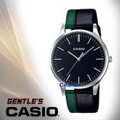CASIO 卡西歐 手錶專賣店 MTP-E133L-1E 男錶  石英錶 防水 綠X黑 雙色皮革錶帶