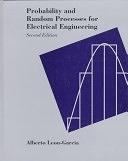 二手書博民逛書店《Probability and Random Processes for Electrical Engineering》 R2Y ISBN:020150037X
