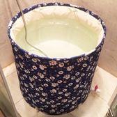 泡澡桶 大人洗澡桶成人家用沐浴桶折疊浴盆特大號加厚泡澡桶BL 【萬聖節推薦】