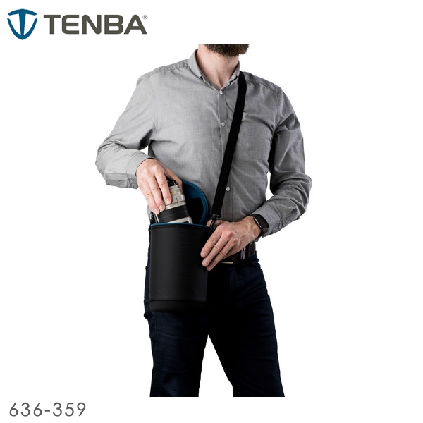 EGE 一番購】TENBA 天霸【Lens Capsule 23x12 cm】鏡頭膠囊 鏡頭袋 EVA上下蓋【公司貨】