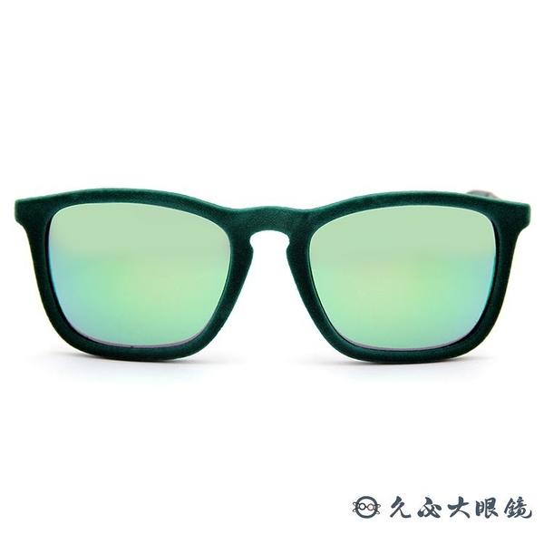 RayBan 雷朋眼鏡 Chris系列 水銀太陽眼鏡 RB4187 6082/3R 綠 久必大眼鏡