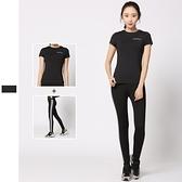 瑜珈服運動套裝(兩件套)-瘦身收腰踩腳設計女健身衣73mt20【時尚巴黎】