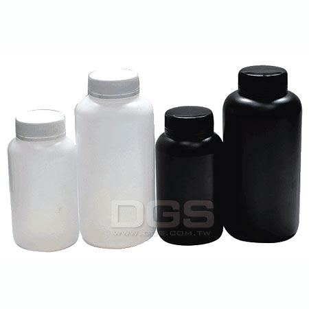 《台製》廣口原封瓶 PE Bottles, Wide-Mouth, PE