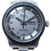【特價40%OFF】MIDO 美度 古銅色面盤自動上鍊機械錶 Multifort【二手名牌 BRAND OFF】
