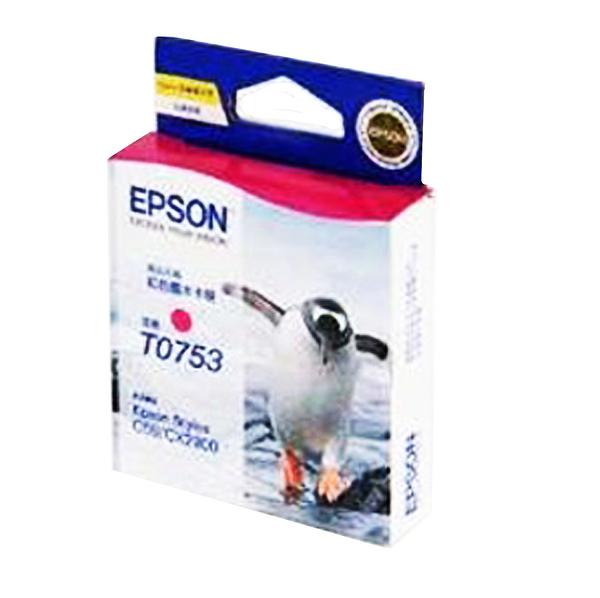 T075350 EPSON 原廠 紅色墨水匣 適用 STYLUS C59/C59mini/CX2900/CX2900mini