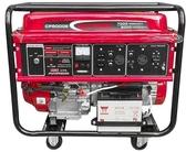 [ 家事達 ]CP5000E  電動起動四行程發電機-5000W (含輪)+A,T,S 電源自動切換開關 殺很大