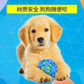 寵物玩具球 狗耐咬磨牙網球拉布拉多哈士奇德牧阿拉斯加幼犬寵物的球球 俏女孩