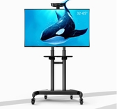 電視支架-貝石液晶顯示器可行動電視機支架落地掛架小米32/55/65寸立式推車 完美情人館YXS