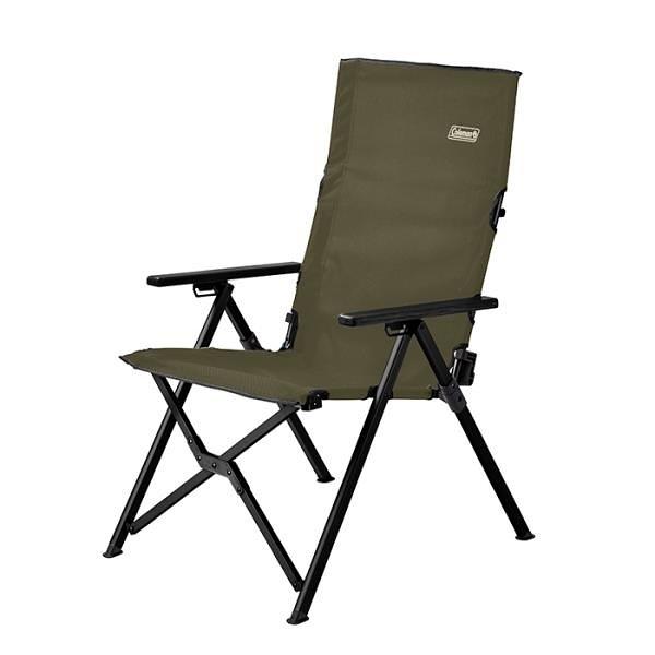 【南紡購物中心】【Coleman】LAY躺椅/三段椅 綠橄欖 CM-33808 -早點名露營生活館