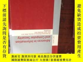 二手書博民逛書店advances罕見in information and com