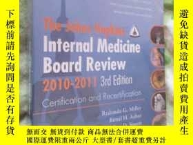 二手書博民逛書店Johns罕見Hopkins Internal Medicine