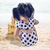 兒童泳衣 韓國兒童可愛連身游泳衣寶寶女孩泳裝1-3-5歲0小童女嬰幼兒泳衣