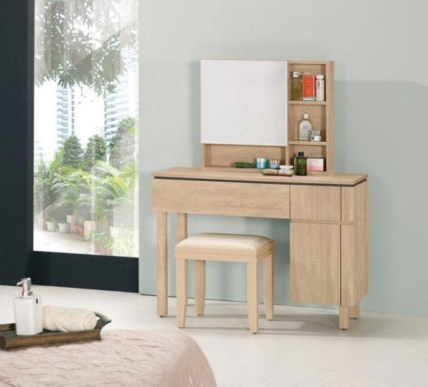 【歐雅系統家具】化妝台+活動椅 整體設計 B0013