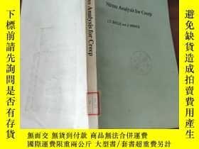 二手書博民逛書店英文《Stress罕見Analysis For Creep(蠕變的應力分析)》Y25226 Butterwor