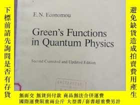 二手書博民逛書店Green S罕見Functions in quantum physics(P004)Y173412 E.N.