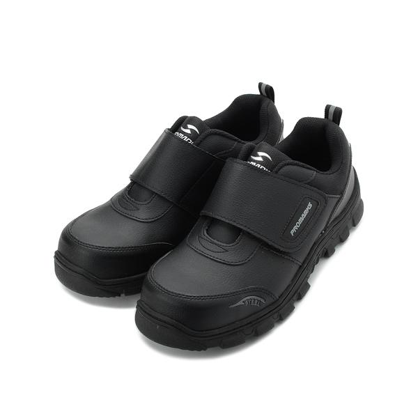 PROMARKS 防穿刺魔鬼氈鋼頭安全鞋 黑 男鞋 鞋全家福