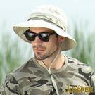 防曬帽子-抗紫外線防UV透氣超大頭圍尺寸遮陽高頂漁夫帽J7541 JUNIPER