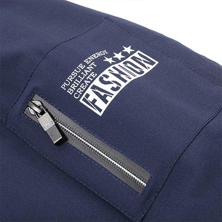 [現貨] 休閒素面手臂拉鍊MA-1棒球飛行夾克外套 有大尺碼 黑色深藍色軍綠色【QZZZ783】