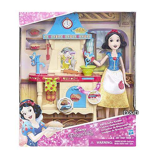 《 Disney 迪士尼 》白雪公主 - 歡樂廚房遊戲組╭★ JOYBUS玩具百貨