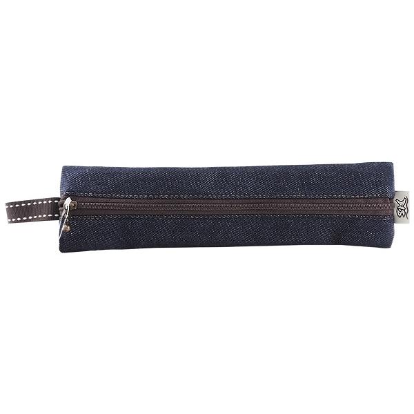 丹寧風環保筷袋(1入)【小三美日】