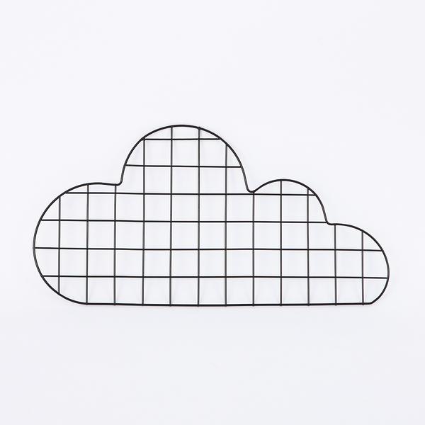 鐵藝網格雲朵memo板-生活工場
