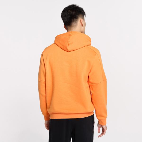 PUMA REBEL BOLD 男裝 長袖 連帽 帽T 保暖 橘【運動世界】58166317