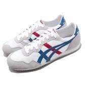 Onitsuka Tiger 休閒鞋 Serrano 白 藍 紅 男鞋 女鞋 Tiger 運動鞋 復古慢跑鞋 【PUMP306】 D109L0142