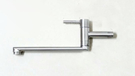 【麗室衛浴】台灣製造 不鏽鋼 自由栓 無鉛 壁式 廚房龍頭 F-200-57