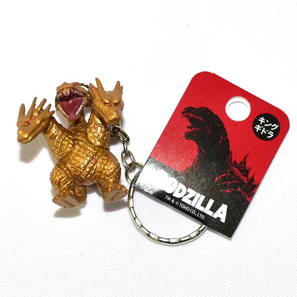 基多拉三頭龍 吊飾 鑰匙圈 日本國內販售正版 哥吉拉勁敵
