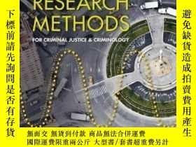 二手書博民逛書店Basics罕見Of Research Methods For Criminal Justice And Crim