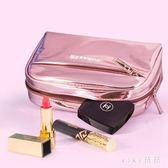 化妝包小號便攜韓版大容量多功能旅行隨身可愛收納袋 nm4674【VIKI菈菈】