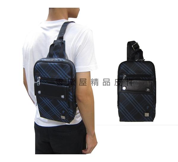 ~雪黛屋~SANDIA-POLO 單後背包小容量主袋+外袋共五層二層主袋口單左右肩進口防水防刮皮革BSD1000635