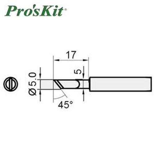 Pro'sKit 寶工 5SI-216N-K 雙斜面烙鐵頭