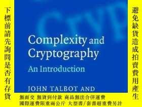 二手書博民逛書店Complexity罕見And CryptographyY256260 Talbot, John  Welsh