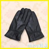 真皮手套男士綿羊皮冬季騎行加絨加厚保暖女士韓版薄款皮手套