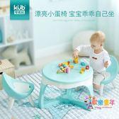 兒童椅子靠背寶寶凳子加厚幼兒園小孩學習桌椅套裝家用防滑 XW