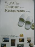 【書寶二手書T8/語言學習_WFB】English for Tourism and Restaurants: Book_