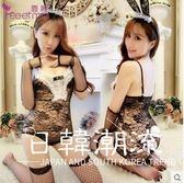 性感夜店兔女郎可愛貓女制服極度誘惑激情套裝透明情趣蕾絲貓女郎