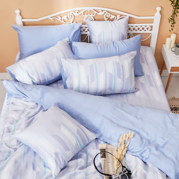 床包兩用被組 / 雙人【曼響】含兩件枕套 100%天絲 戀家小舖台灣製AAU215